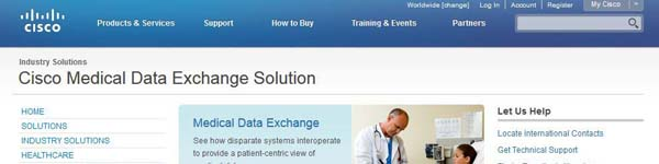 CiscoMedicalDataExchangeSolution