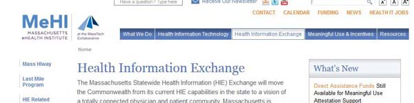 MassachusettsStatewideHealthInformation